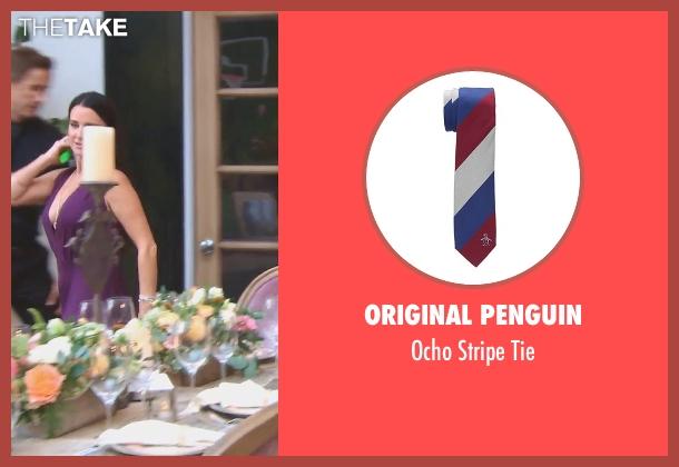 Original Penguin white tie from (500) Days of Summer seen with Joseph Gordon-Levitt (Tom)