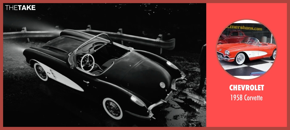 Chevrolet corvette from Frank Miller's Sin City: A Dame To Kill For seen with Joseph Gordon-Levitt (Johnny)