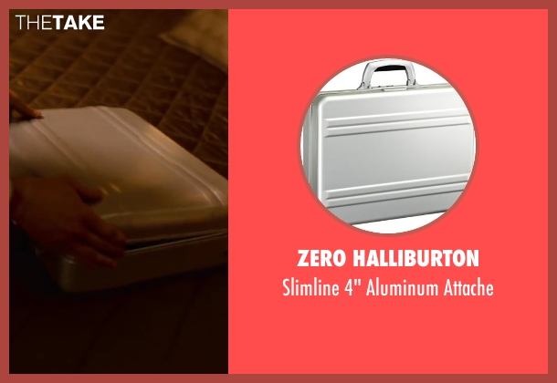 ZERO Halliburton attache from Inception seen with Joseph Gordon-Levitt (Arthur)