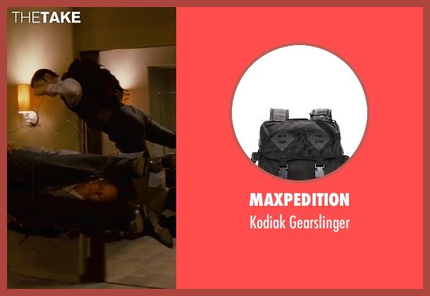 MAXPEDITION black gearslinger from Inception seen with Joseph Gordon-Levitt (Arthur)
