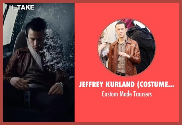 Jeffrey Kurland (Costume Designer) black trousers from Inception seen with Joseph Gordon-Levitt (Arthur)