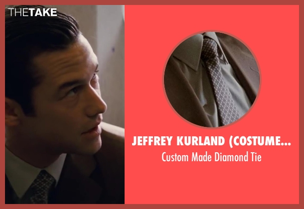 Jeffrey Kurland (Costume Designer) brown tie from Inception seen with Joseph Gordon-Levitt (Arthur)