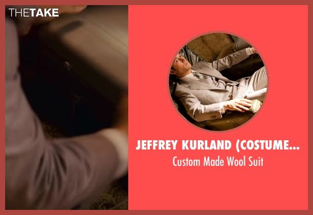 Jeffrey Kurland (Costume Designer) and Dennis Kim (Tailor) gray suit from Inception seen with Joseph Gordon-Levitt (Arthur)
