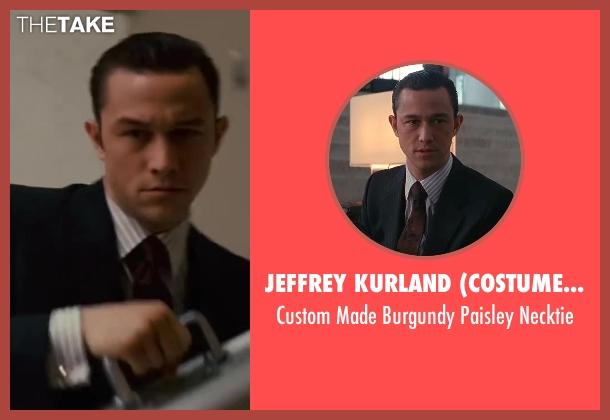 Jeffrey Kurland (Costume Designer) necktie from Inception seen with Joseph Gordon-Levitt (Arthur)