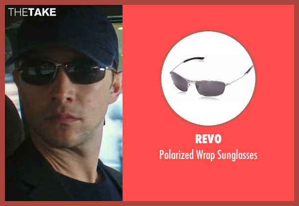 Revo black sunglasses from Snowden seen with Joseph Gordon-Levitt (Edward Snowden)