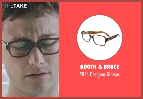 Booth & Bruce brown glasses from Snowden seen with Joseph Gordon-Levitt (Edward Snowden)