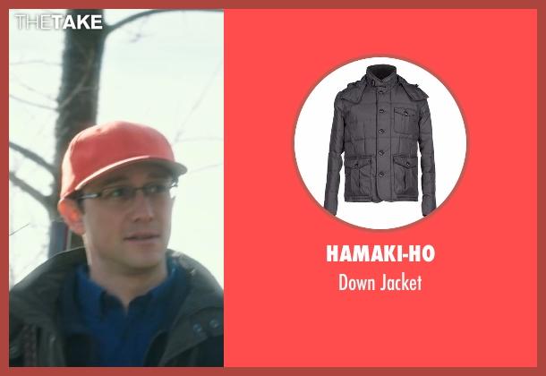 Hamaki-Ho gray jacket from Snowden seen with Joseph Gordon-Levitt (Edward Snowden)