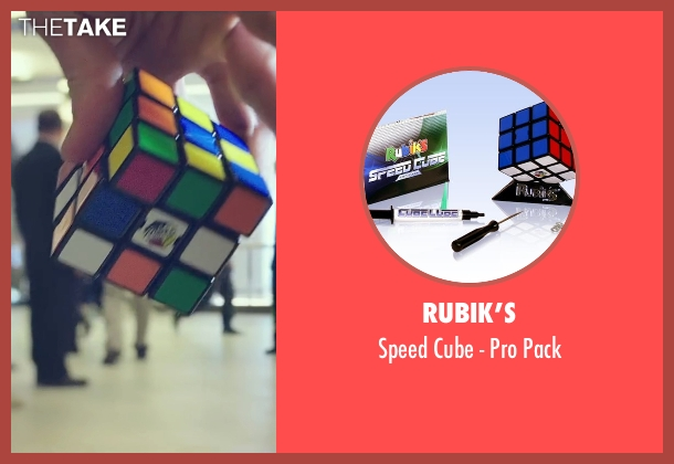 Rubik's pack from Snowden seen with Joseph Gordon-Levitt (Edward Snowden)