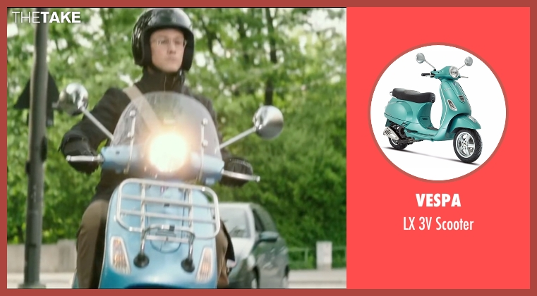 Vespa scooter from Snowden seen with Joseph Gordon-Levitt (Edward Snowden)