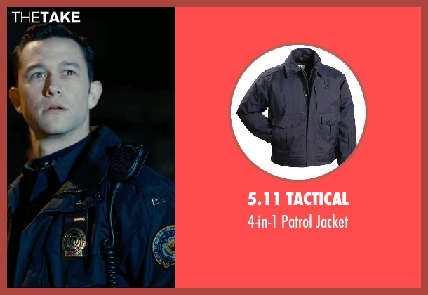 5.11 Tactical blue jacket from The Dark Knight Rises seen with Joseph Gordon-Levitt (Blake)