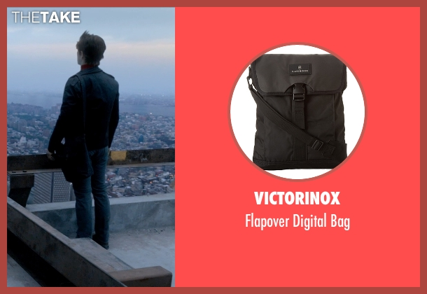 Victorinox black bag from The Walk seen with Joseph Gordon-Levitt (Philippe Petit)