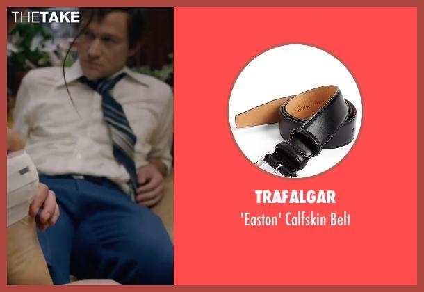 Trafalgar black belt from The Walk seen with Joseph Gordon-Levitt (Philippe Petit)