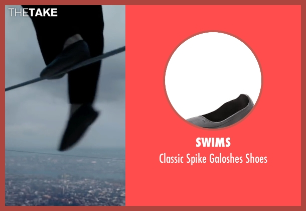 SWIMS black shoes from The Walk seen with Joseph Gordon-Levitt (Philippe Petit)