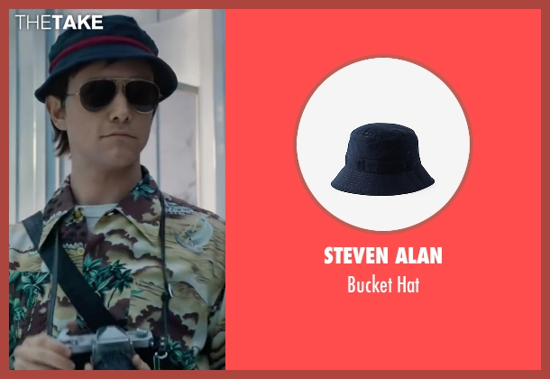 Steven Alan blue hat from The Walk seen with Joseph Gordon-Levitt (Philippe Petit)