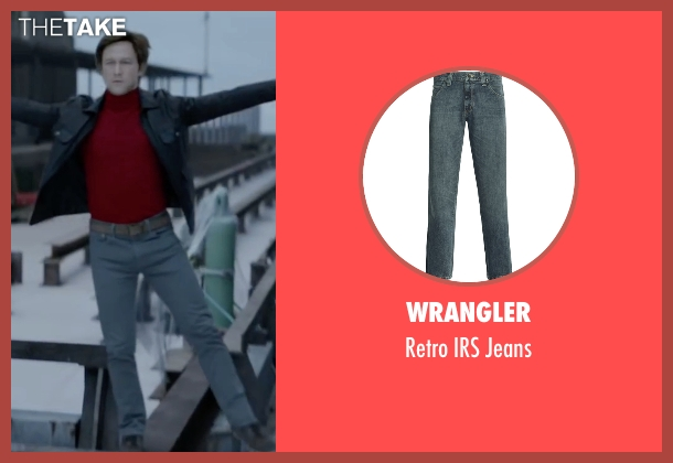 Wrangler blue jeans from The Walk seen with Joseph Gordon-Levitt (Philippe Petit)