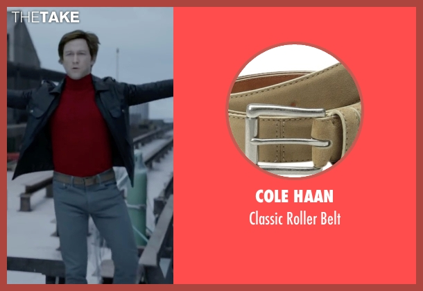 Cole Haan brown belt from The Walk seen with Joseph Gordon-Levitt (Philippe Petit)