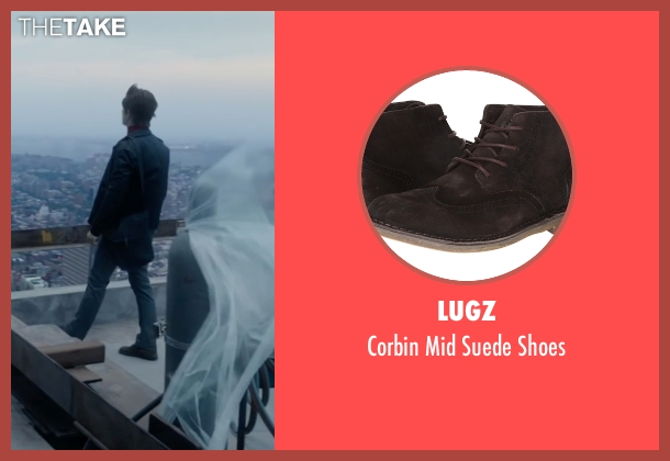 Lugz brown shoes from The Walk seen with Joseph Gordon-Levitt (Philippe Petit)
