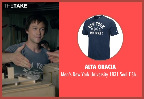Alta Gracia gray t-shirt from The Walk seen with Joseph Gordon-Levitt (Philippe Petit)