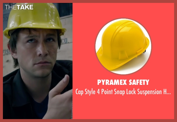 Pyramex Safety hat from The Walk seen with Joseph Gordon-Levitt (Philippe Petit)