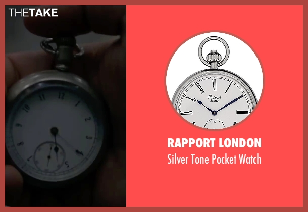 Rapport London silver watch from The Walk seen with Joseph Gordon-Levitt (Philippe Petit)
