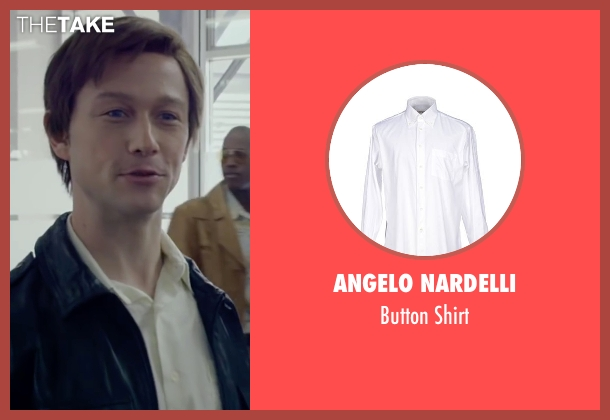 Angelo Nardelli white shirt from The Walk seen with Joseph Gordon-Levitt (Philippe Petit)