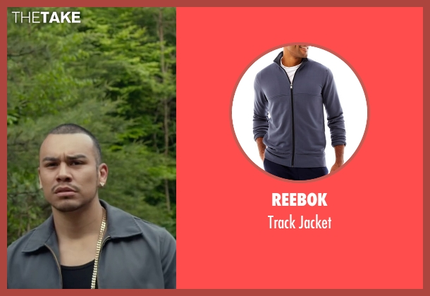 Reebok gray jacket from Max seen with Joseph Julian Soria (Emilio)