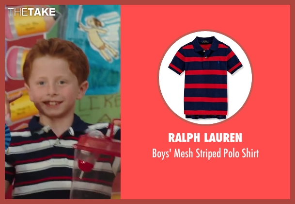 Ralph Lauren red shirt from Sex and the City 2 seen with Joseph Pupo (Brady Hobbes)