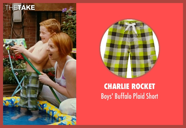Charlie Rocket green short from Sex and the City seen with Joseph Pupo (Brady Hobbes)