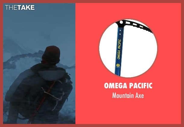 Omega Pacific axe from Everest seen with Josh Brolin (Beck Weathers)