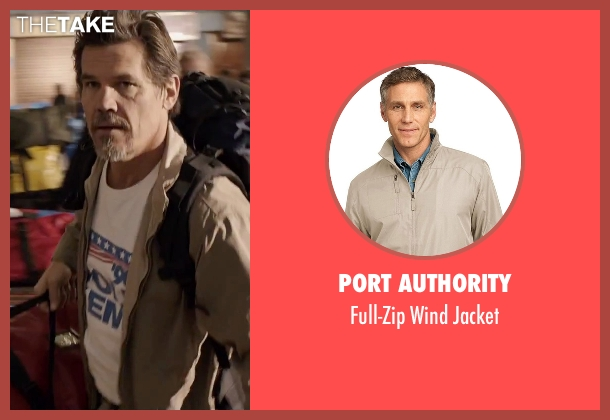 Port Authority beige jacket from Everest seen with Josh Brolin (Beck Weathers)