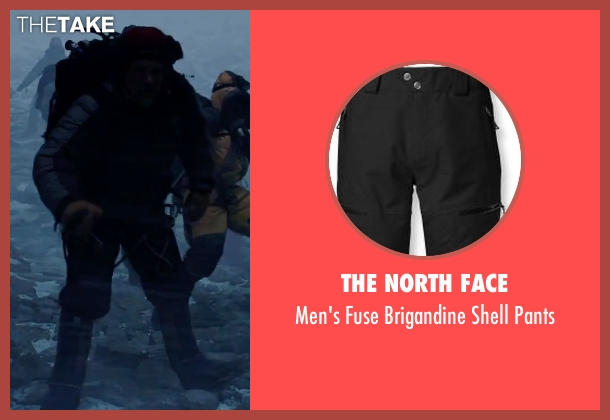 The North Face black pants from Everest seen with Josh Brolin (Beck Weathers)