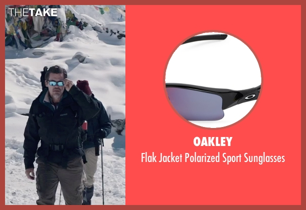 Oakley black sunglasses from Everest seen with Josh Brolin (Beck Weathers)