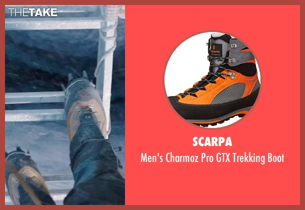 Scarpa brown boot from Everest seen with Josh Brolin (Beck Weathers)