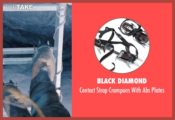 Black Diamond plates from Everest seen with Josh Brolin (Beck Weathers)