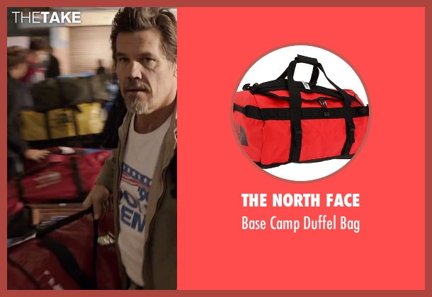 The North Face red bag from Everest seen with Josh Brolin (Beck Weathers)