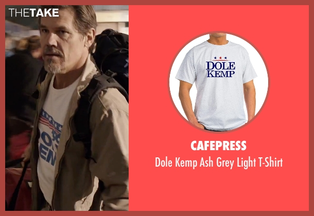 CafePress white t-shirt from Everest seen with Josh Brolin (Beck Weathers)