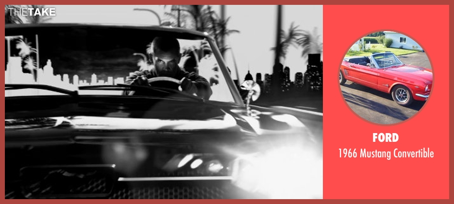 Ford convertible from Frank Miller's Sin City: A Dame To Kill For seen with Josh Brolin (Dwight McCarthy)
