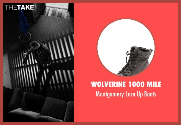 Wolverine 1000 Mile gray boots from Frank Miller's Sin City: A Dame To Kill For seen with Josh Brolin (Dwight McCarthy)