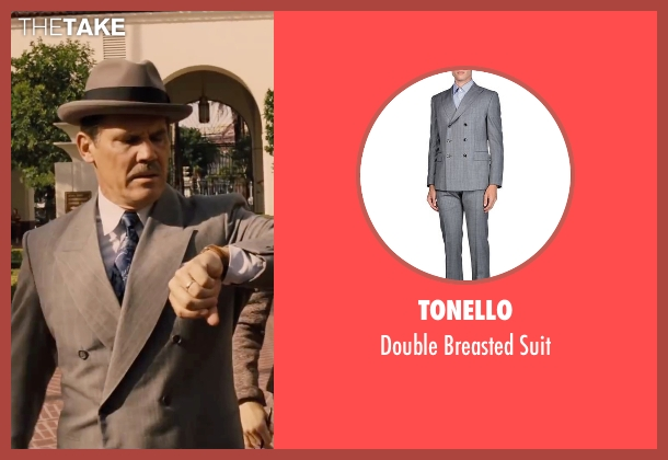 Tonello gray suit from Hail, Caesar! seen with Josh Brolin (Eddie Mannix)