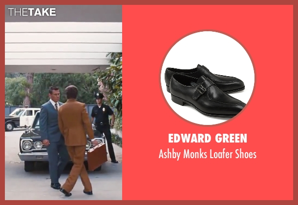 "Edward Green black shoes from Inherent Vice seen with Josh Brolin (Lt. Det. Christian F. ""Bigfoot"" Bjornsen)"