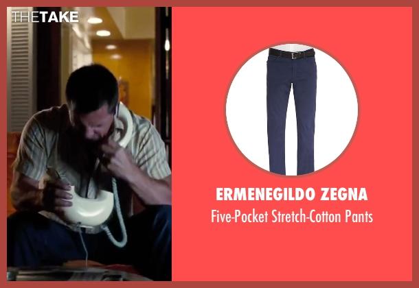 "Ermenegildo Zegna blue pants from Inherent Vice seen with Josh Brolin (Lt. Det. Christian F. ""Bigfoot"" Bjornsen)"