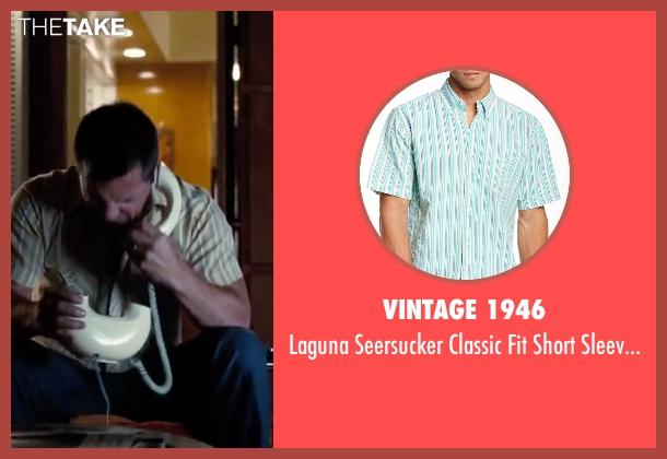 "Vintage 1946 green shirt from Inherent Vice seen with Josh Brolin (Lt. Det. Christian F. ""Bigfoot"" Bjornsen)"