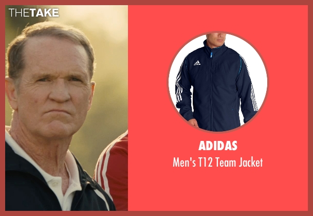Adidas blue jacket from McFarland, USA seen with Josh Clark (Coach Jameson)