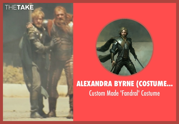 Alexandra Byrne (Costume Designer) costume from Thor seen with Josh Dallas (Fandral)
