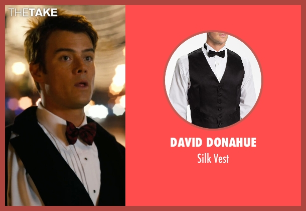 David Donahue black vest from New Year's Eve seen with Josh Duhamel (Sam)