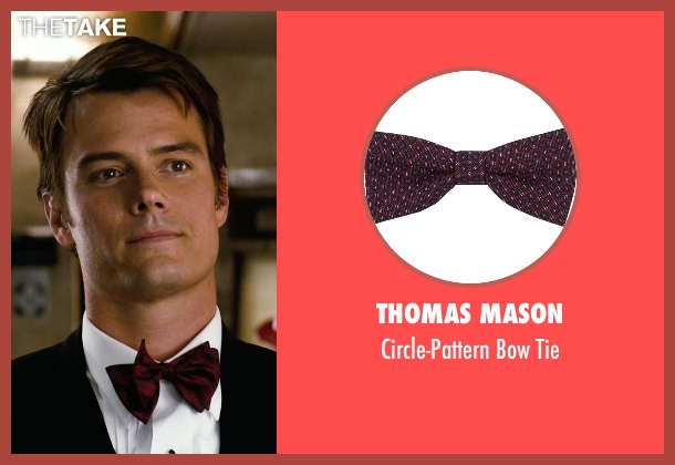 Thomas Mason red tie from New Year's Eve seen with Josh Duhamel (Sam)