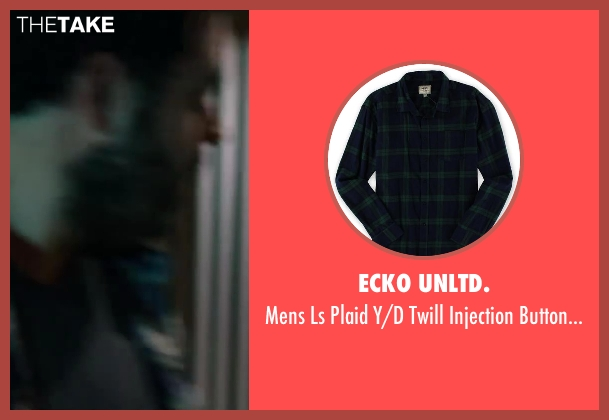 Ecko Unltd. blue shirt from Wish I Was Here seen with Josh Gad (Jgayonah Bloom)