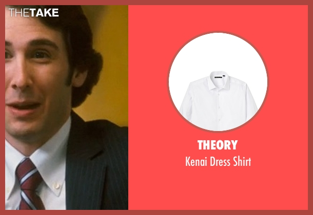 Theory white shirt from Crazy, Stupid, Love. seen with Josh Groban (Richard)