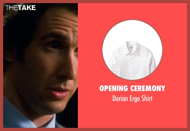 Opening Ceremony white shirt from Crazy, Stupid, Love. seen with Josh Groban (Richard)
