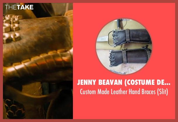 Jenny Beavan (Costume Desginer) black braces from Mad Max: Fury Road seen with Josh Helman (Slit)
